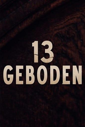 Poster of 13 Commandments