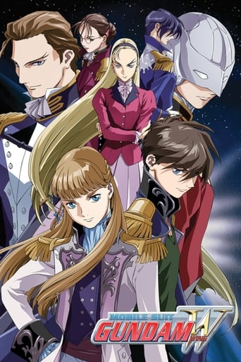 Poster of Mobile Suit Gundam Wing