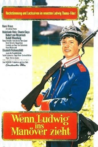 Poster of Wenn Ludwig ins Manöver zieht