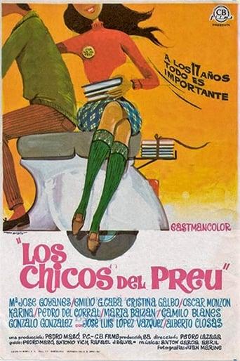 Poster of Los chicos del Preu
