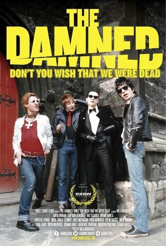 Poster of The Damned: Don't You Wish That We Were Dead