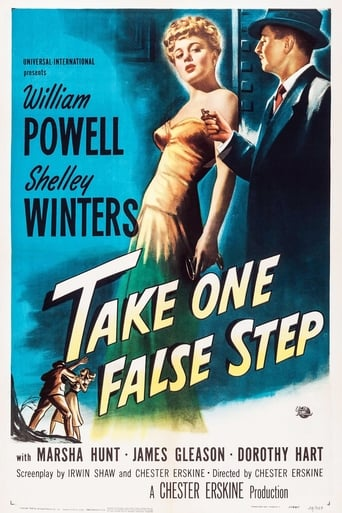 Poster of Take One False Step