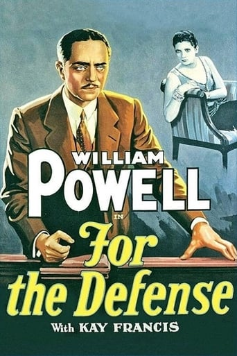 Poster of For the Defense