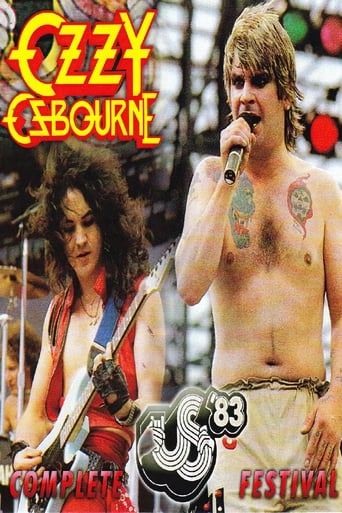 Ozzy Osbourne: [1983] US Festival poster