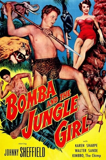 Poster of Bomba and the Jungle Girl