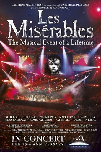 Poster of Les Misérables: The 25th Anniversary Concert