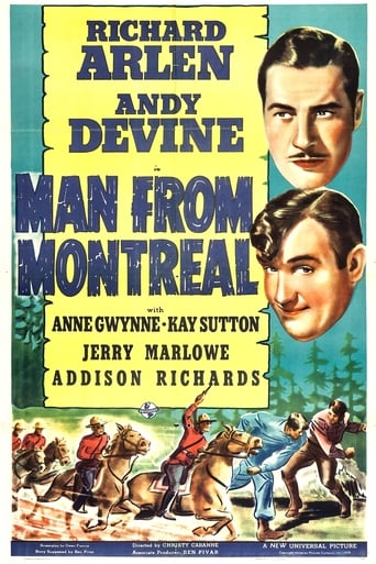 Poster of The Man from Montreal