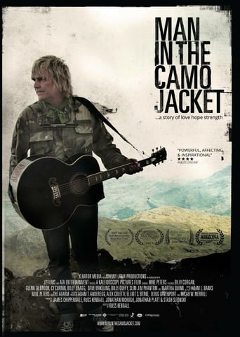 Poster of Man in the Camo Jacket