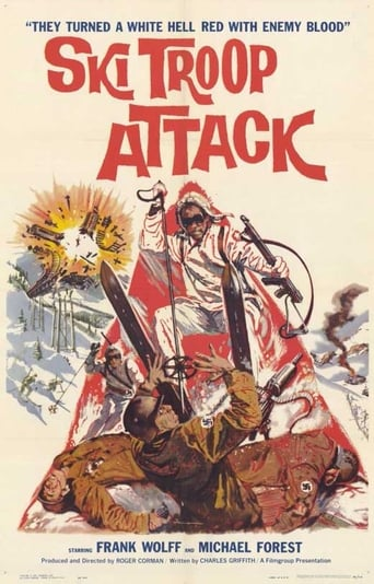 Poster of Ski Troop Attack