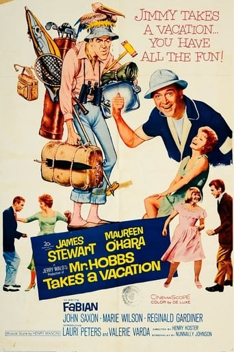 Poster of Mr. Hobbs Takes a Vacation