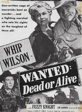 Poster of Wanted: Dead or Alive