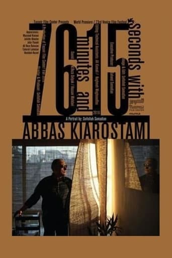 Poster of 76 Minutes and 15 seconds with Abbas Kiarostami