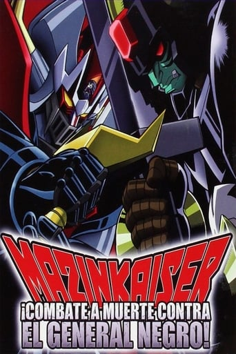 Poster of Mazinkaiser: Combate a muerte contra el general negro