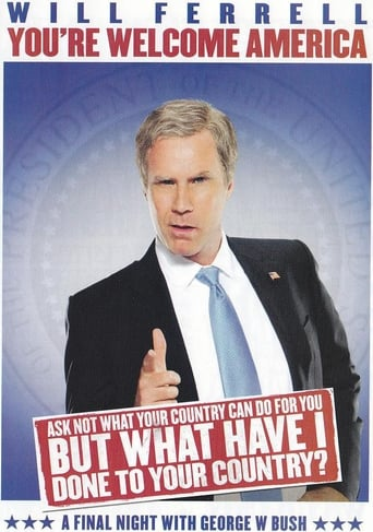 Poster of Will Ferrell: You're Welcome America - A Final Night with George W. Bush