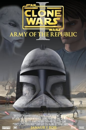 Poster of Clone Wars - Episode I: Army Of The Republic