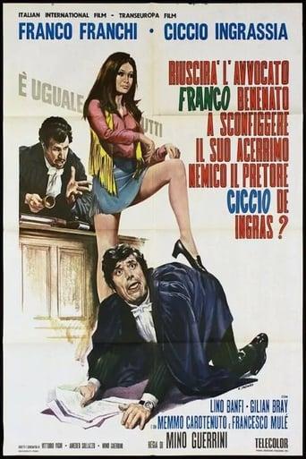 Poster of Riuscirà l'avvocato Franco Benenato a sconfiggere il suo acerrimo nemico il pretore Ciccio De Ingras?