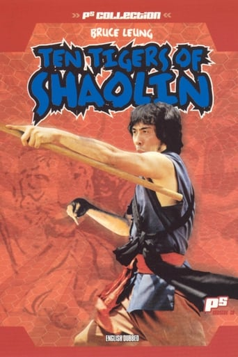 Poster of Ten Tigers of Shaolin