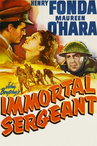 Poster of Immortal Sergeant