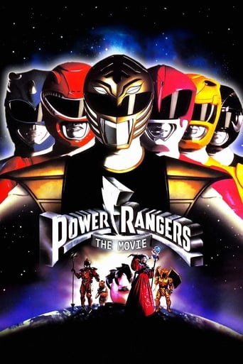 Poster of Mighty Morphin Power Rangers: The Movie