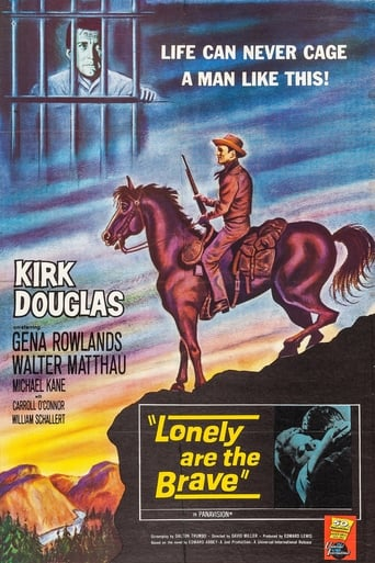 Poster of Lonely Are the Brave