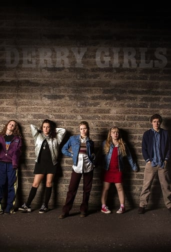 Poster of Derry Girls