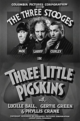 Poster of Three Little Pigskins