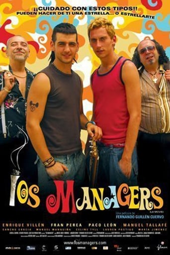Poster of Los mánagers