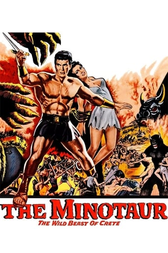 Poster of The Minotaur, the Wild Beast of Crete