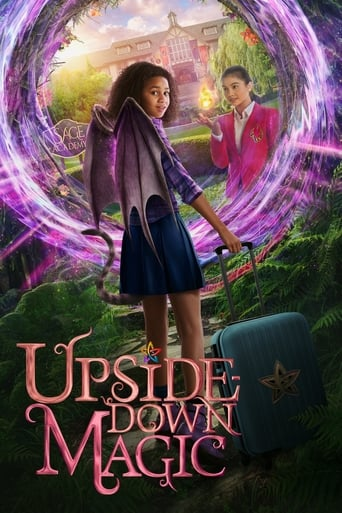 Poster of Upside-Down Magic