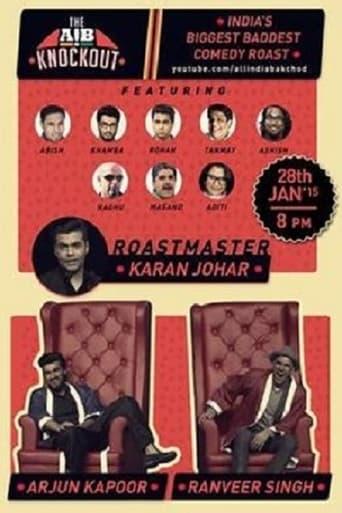 Poster of AIB Knockout The Roast of Arjun Kapoor and Ranveer Singh