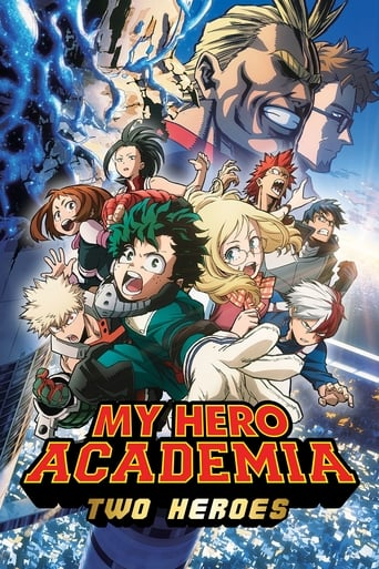 Poster of My Hero Academia: Two Heroes
