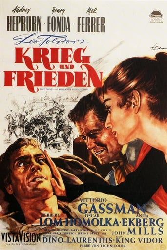 Filmplakat von Krieg und Frieden