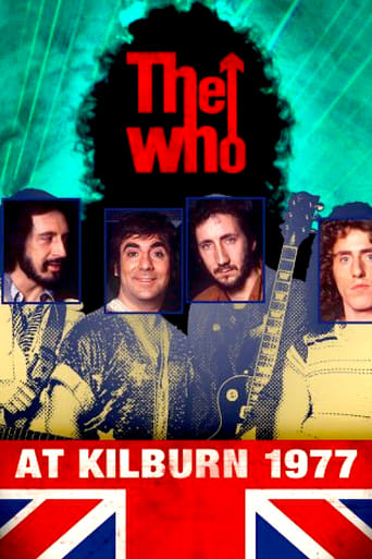 Poster of The Who: at Kilburn 1977