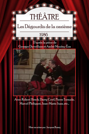 Poster of Les Dégourdis de la onzième