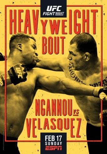 Poster of UFC on ESPN 1: Ngannou vs. Velasquez - Prelims