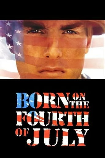 Poster of Born on the Fourth of July