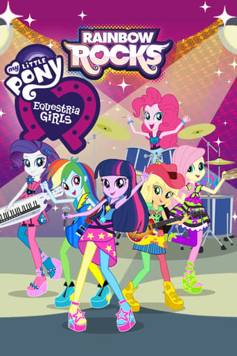 Poster of My Little Pony: Equestria Girls - Rainbow Rocks