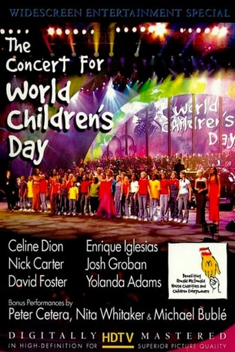 Poster of The Concert For World Children's Day