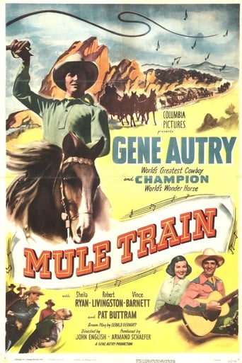 Poster of Mule Train