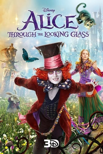 poster Alice Through the Looking Glass – Alice în Țara Oglinzilor (2016)