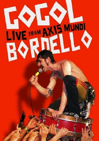 Poster of Gogol Bordello: Live from Axis Mundi