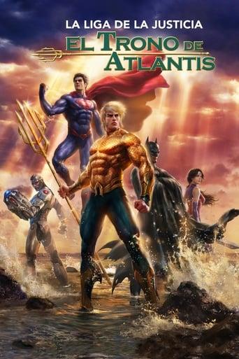 Poster of La Liga de la Justicia: El trono de Atlantis