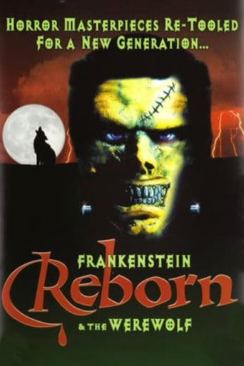 Poster of Frankenstein & the Werewolf Reborn!