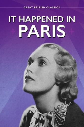 Poster of It Happened in Paris