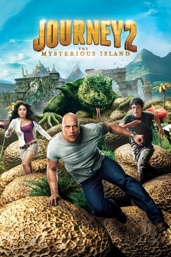 Poster of Journey 2: The Mysterious Island