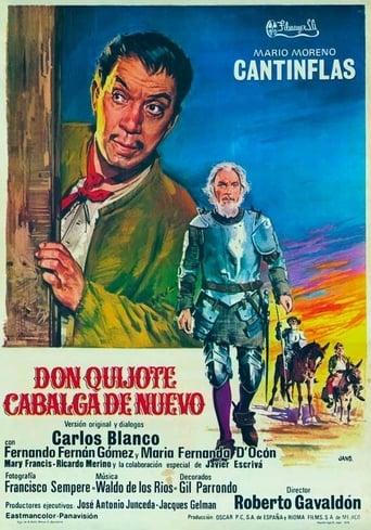Poster of Don Quijote cabalga de nuevo