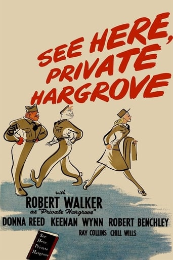Poster of See Here, Private Hargrove