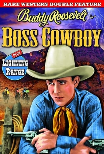 Poster of The Boss Cowboy