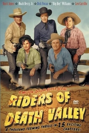 Poster of Riders of Death Valley