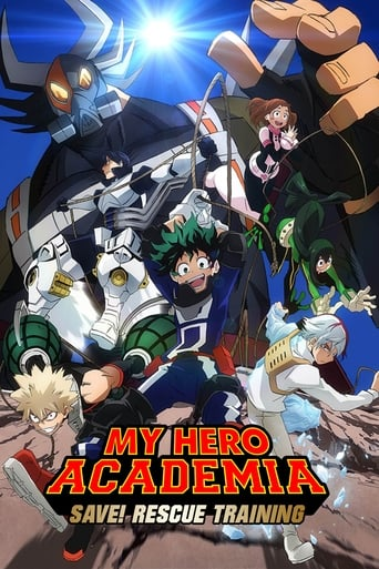 Poster of My Hero Academia: Save! Rescue Training!